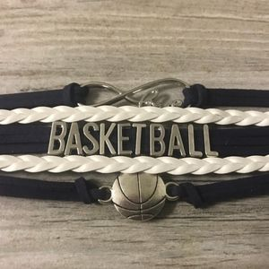 Infinity Collection Basketball Bracelet